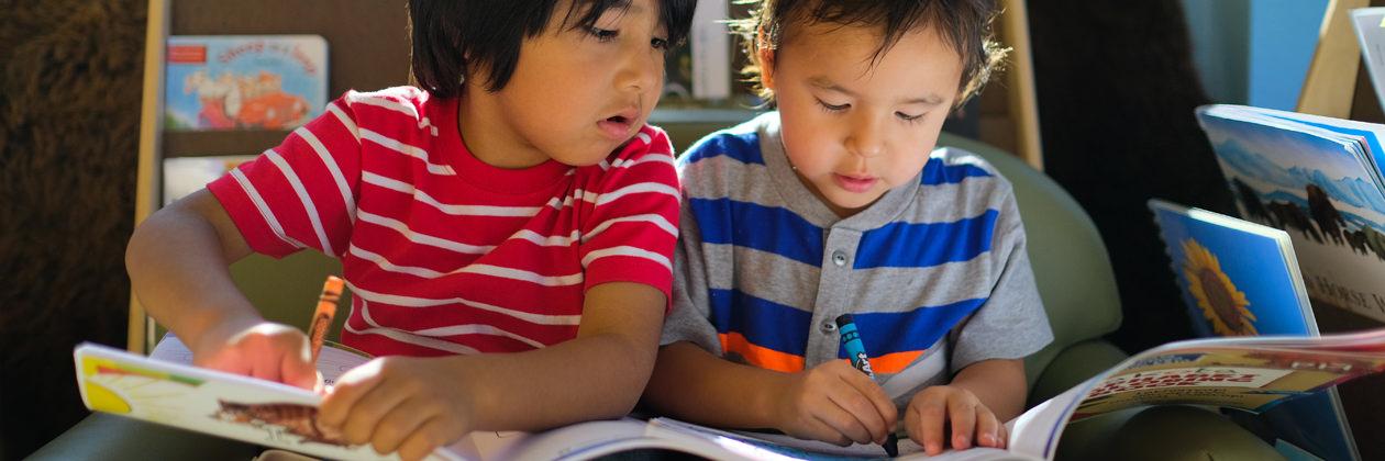 Lowi School - Children Reading